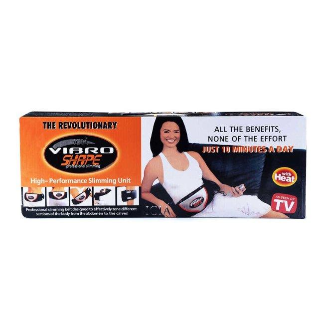 Пояс массажный для похудения с эффектом сауны Vibro Shape (Вибро Шейп)