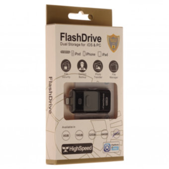 Память OTG USB Flash FlashDrive Dual Storage for iOS&PC 128 ГБ