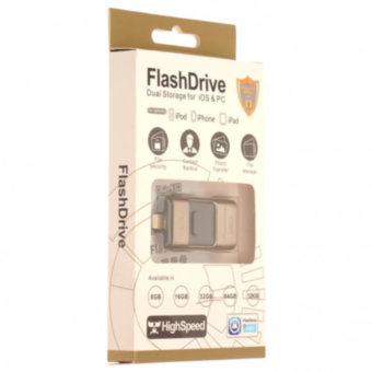 Память OTG USB Flash FlashDrive Dual Storage for iOS&PC 32 ГБ